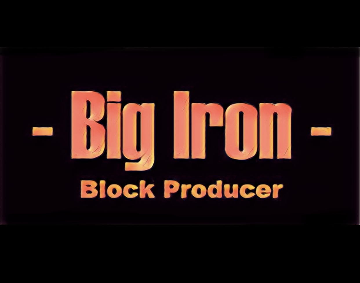 Big Iron Logo finished and square